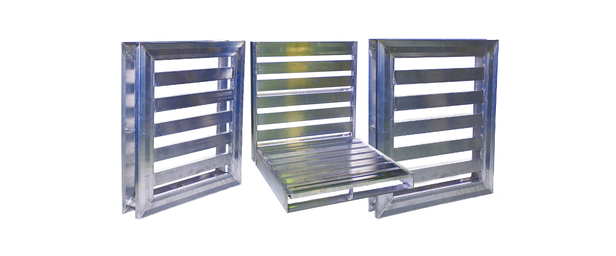 Aluminum Pallet for Cold Storage.