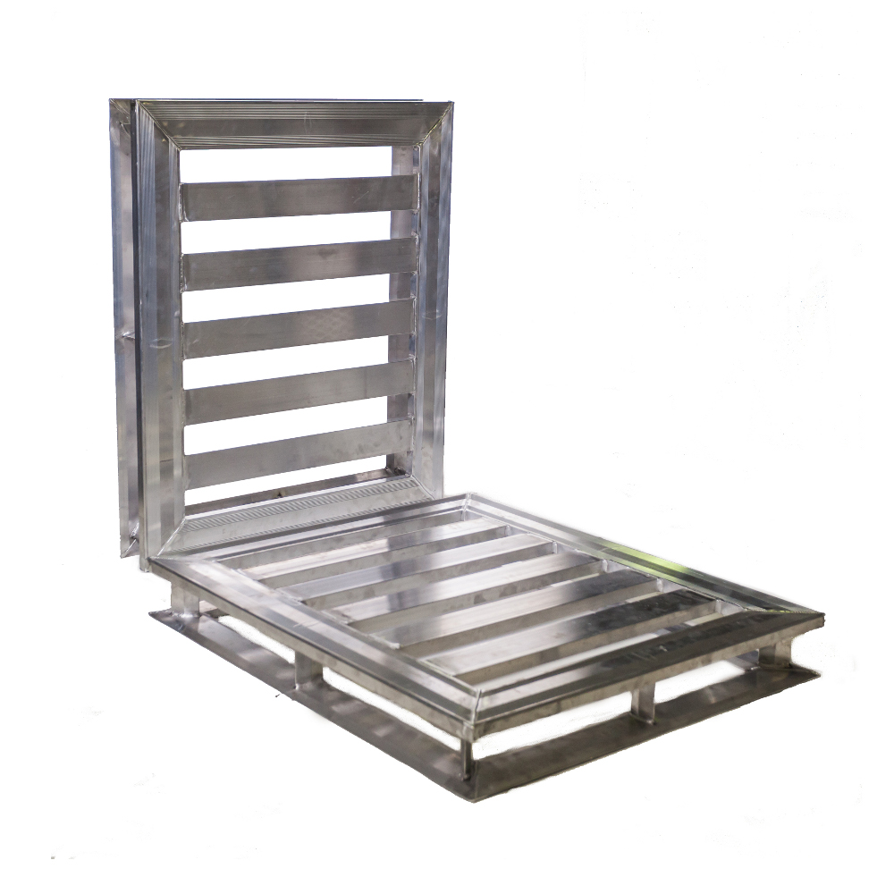 40x48 Heavy Duty 4-way Aluminum Pallet